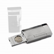 Pierre Cardin Chrome Cigar Lighter with Cutter (MF-210-02)