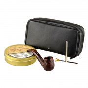 Dunhill White Spot County Bent Pipe Gift Box