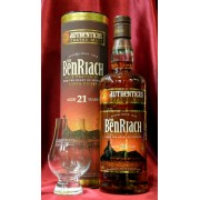 Benriach 21 year old Authenticus 46%