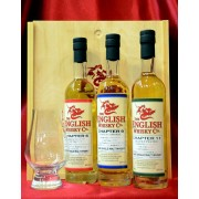 St George's Distillery Norfolk 3 x 20cl Chapter 6, 9 and 11 Gift Set