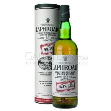 Laphroaig 10 year old 55.3%