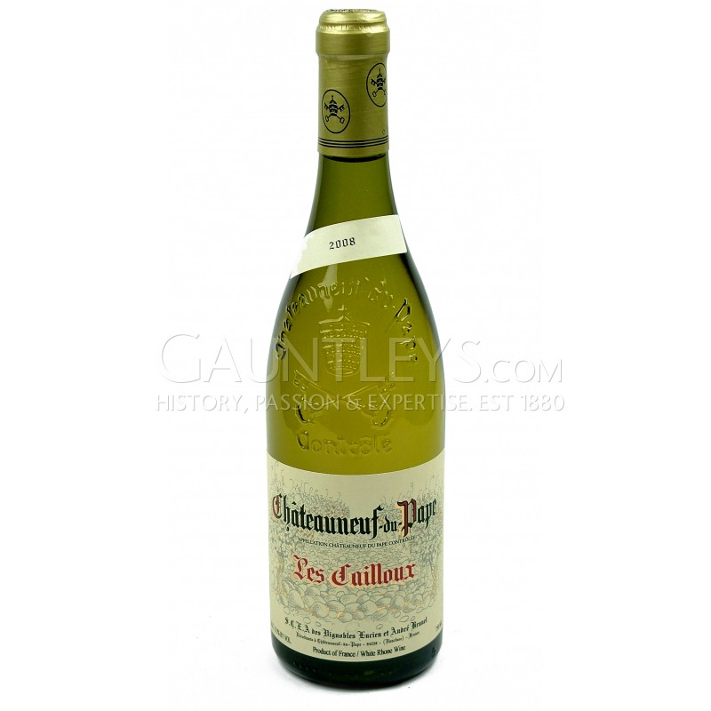 2008 domaine les cailloux chateauneuf du pape blanc white wine in stock gauntleys fine wines. Black Bedroom Furniture Sets. Home Design Ideas