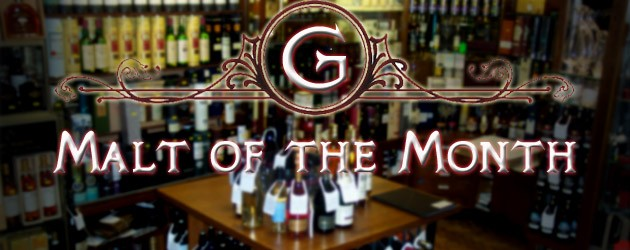 Gauntleys malt of the month is ............